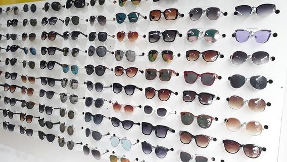 Kit C/ 10 Óculos De Sol Feminino/ Masculino Atacado Barato