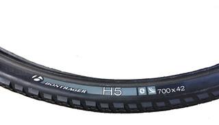 Bontrager H5 Hard-case Lite Llanta Hibrida 700x42c