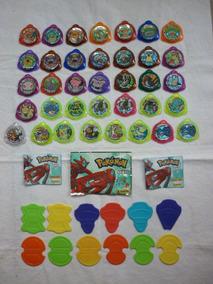 36 Tazos Pokémon Kraks + 12 Shooters / Panini - 2005