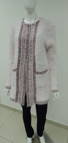 Blusa Casaco Tricot Feminino
