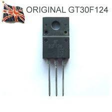 Kit Com 5 Transistor Mosfet Gt30f124 30j124 Original Usa