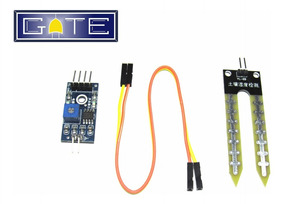 Sensor De Umidade De Solo Higrômetro Para Arduino/pic + Cabo