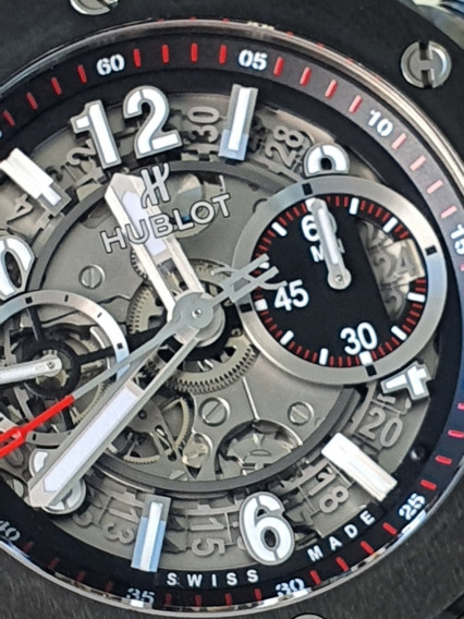 Hublot Big Bang Chronograph Flyback unico Titanium