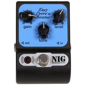 Pedal Nig Easy Drive N Booster Ped   Mostruário