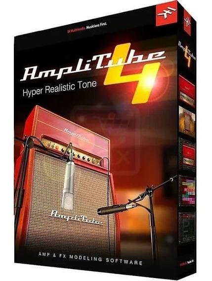 Amplitube 4 Complete V4.9.1 Completo Win & Mac