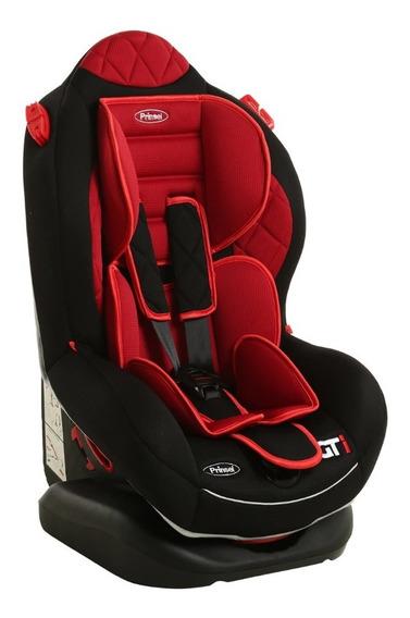 Autoasiento Infantil Gti 7212 Negro Con Rojo