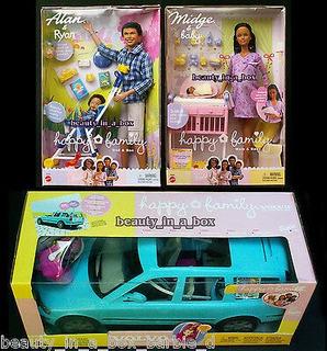 Embarazada Midge Barbie Doll Baby Alan Ryan Happy Family Vo