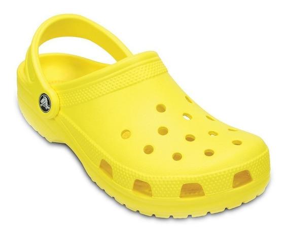 Crocs Original Classic Amarillas Adulto