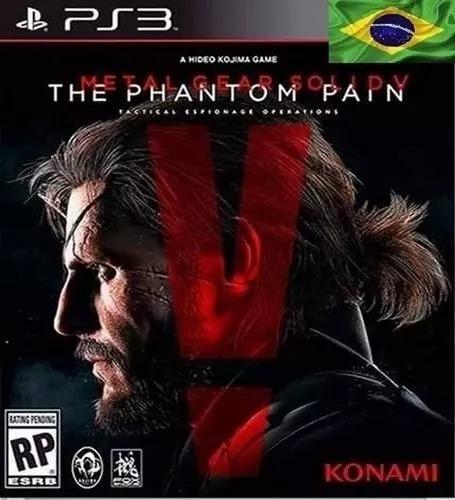 Metal Gear Solid V The Phantom Pain Ps3 Digital Psn Envio Já