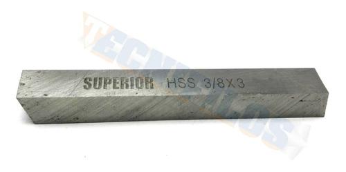 Buril Hss 3/8 X 3 Marca Superior (bur043)