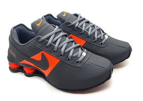Tênis Nike Shox + Relógio De Brinde Frete Grátis