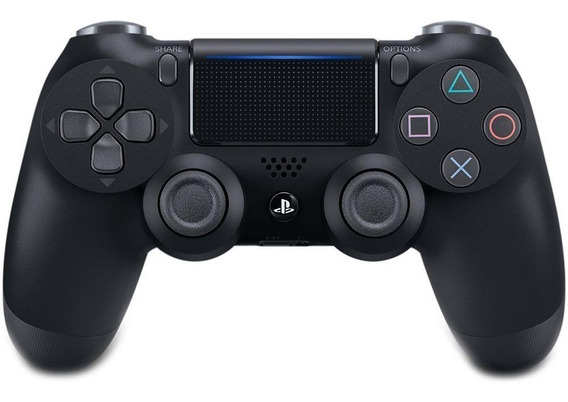 Controle Playstation Dualshock 4 Preto Led Sony - Ps4 *