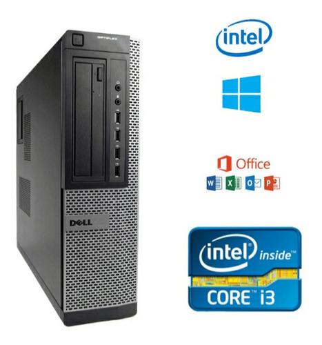 Imagen 1 de 1 de Computadora Core I3 4 Gb De Ram, 500 Gb Dd. 3ra Generación