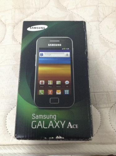 Celular Samsung Galaxy Ace Gt-s5830c Com Caixa