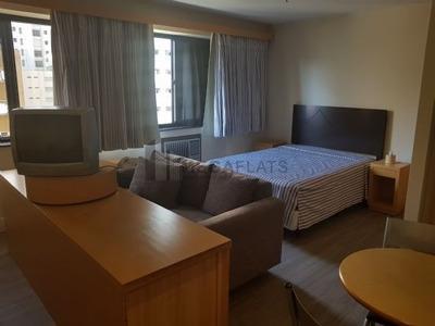 03457 - Flat 2 Dorms. (2 Suítes), Jardins - São Paulo/sp - 3457