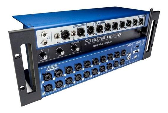 Mesa Som Digital Soundcraft Ui24r 24 Canais Interface Audio