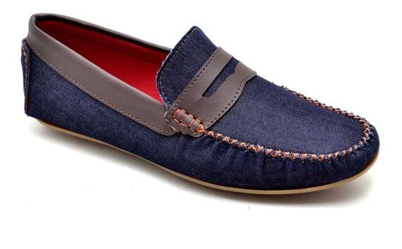 Sapato Mocassim Masculino Camurça Casual Social 10 Modelos