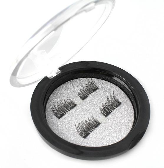 Pestañas Postizas Imantadas Para Maquillaje Rapido