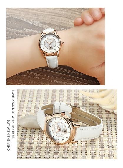 Relógio Casual Elegante Importado Luxo Diversas Cores