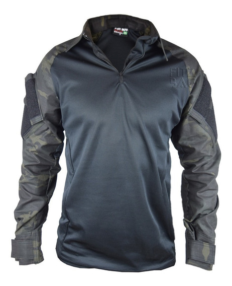 Camisa Masculina Combat Tatica Militar Resistente Airsoft