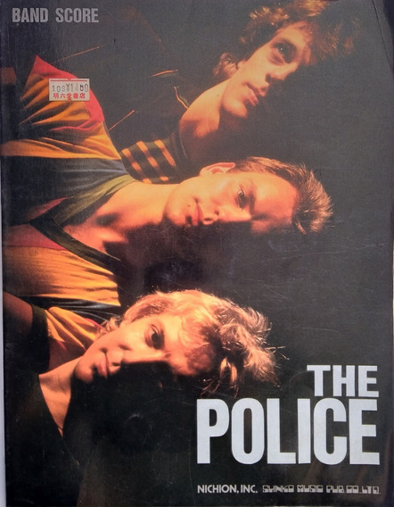 Songbook Raríssimo - The Police Best Band Score