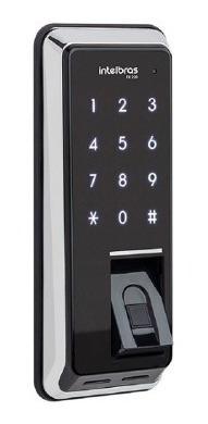 Fechadura Digital Intelbras Biometria E Teclado Touch Fr220