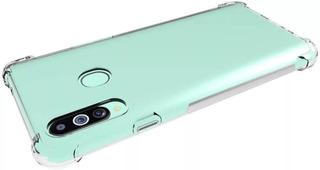 Funda Tpu Transparente Samsung A10 M10 + Glass Full 9d