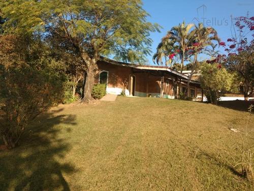 Chácara Residencial À Venda, Estrada Do Areião, Capela Do Alto. Asfalto Em Frente - Ch0019