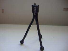 Mini Tripé Flexível De Mesa P/ Câmera Fotográfica - 13 Cm