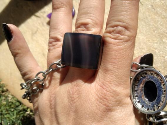 Obsidiana Pedra Nenhuma Semi-preciosas Oval Lapidado