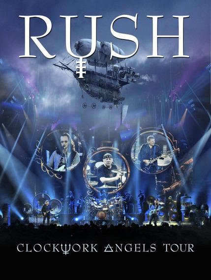 Rush - Clockwork Angels Tour [ 2dvd ] Importado Lacrado Orig