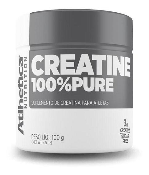 Creatina 100% Pure (100g) Atlhetica Nutrition