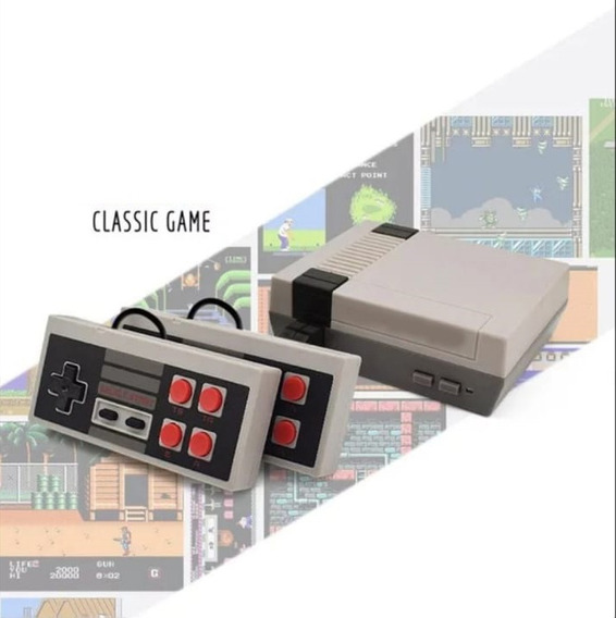Mini Vídeo Game Retrô Clássico Vários Jogos Mario World Av