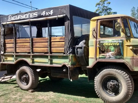 Camion 4x4. Ideal Para Turismo.