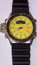 6b7f177ffdd Relogio Aqualand Atlantis Amarelo - Joias e Relógios no Mercado ...