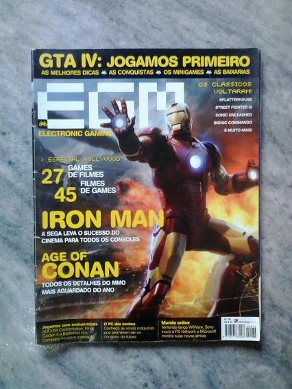 Egm Brasil Nº 76 Iron Man