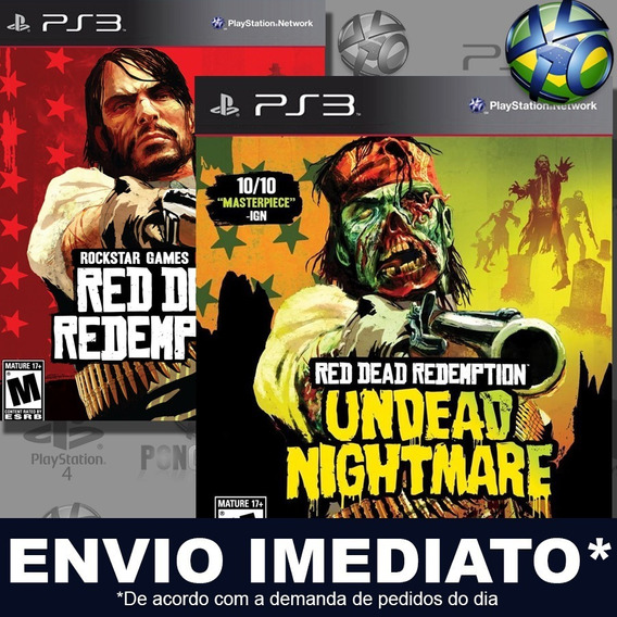Red Dead Redemption Com Undead Nightmare Collection Ps3 Psn