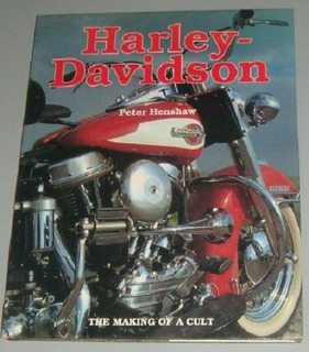 Motos - Livro Harley-davidson The Making Of A Cult (inglês)