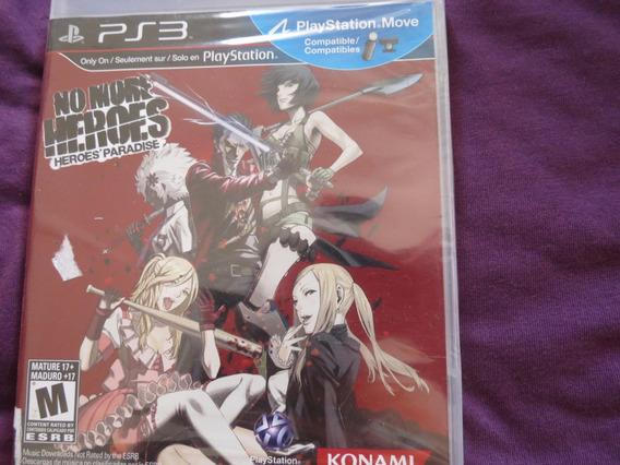 No More Heroes Paradise Sony Playstation 3 Ps3 Konami
