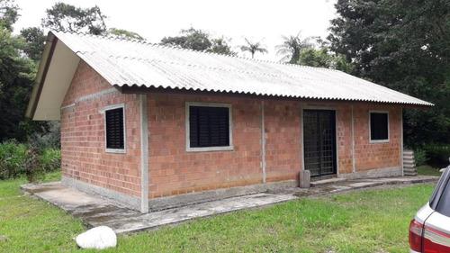 Chácara Com 3 Dormitórios À Venda, 10000 M² Por R$ 149.900,00 - Ponta Da Pedra - Antonina/pr - Ch0132