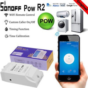 Sonoff Pow R2 Medidor De Energia, Wi-fi, Google Home, Alexa