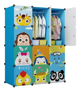 Armario Cubos Closet Organizador Juguetes Ropa Bebe Niño