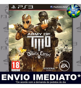 Jogo Ps3 Army Of Two The Devils Cartel Psn Play 3 Digital