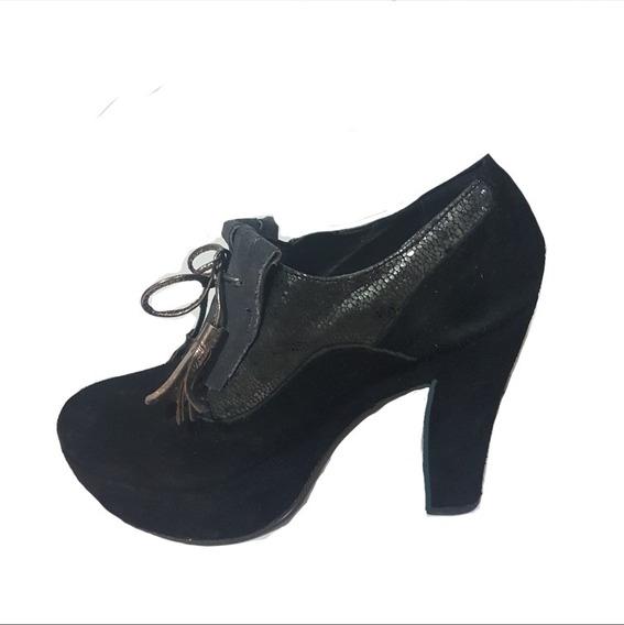 Zapato Viamo N°36- Lucerna- Vitamina- Sarkany- Prune- Blaqué