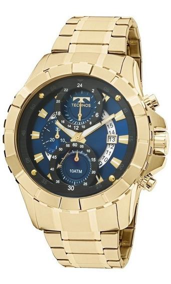 Relógio Technos Dourado Masculino Classic Legacy Js15em/4a