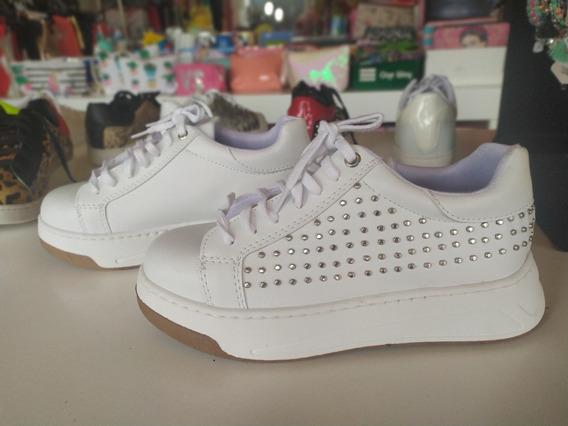 Zapatilla Con Tachas, Plataforma, Sneakers