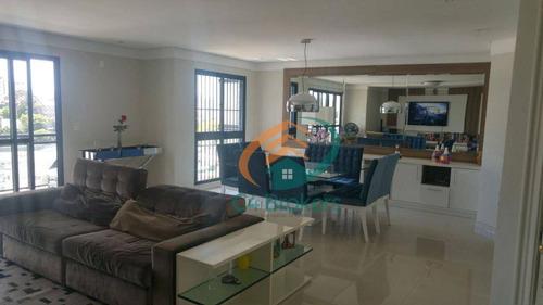 Imagem 1 de 24 de Apartamento Com 4 Dormitórios À Venda, 180 M² Por R$ 1.275.000,00 - Vila Moreira - Guarulhos/sp - Ap1352