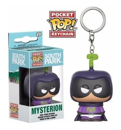 Imagem 1 de 5 de Pocket Pop Keychain Chaveiro Funko South Park - Mysterion