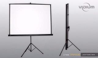 Pantalla Con Tripode Vidium T84 180x180cm
