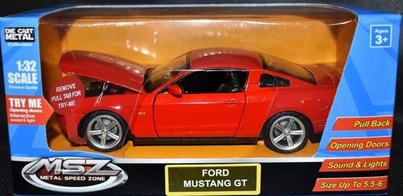 Ford Mustang Gt Msz Auto De Colección Metal 1:32